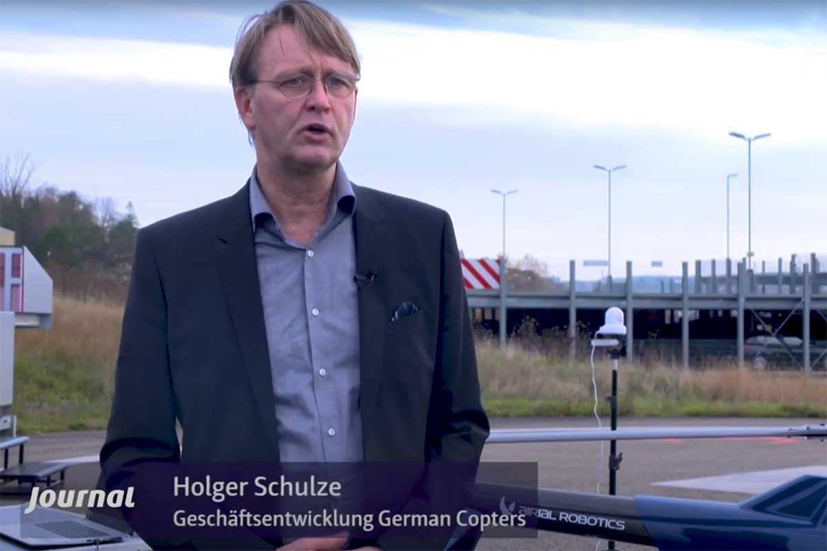 Medical logistics - cooperation between the RKH clinics and German Copters